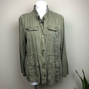 Lucky Brand Cargo/Military Jacket